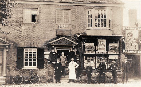 Mr Joseph Smoothy and the Arrington Post Office c1900