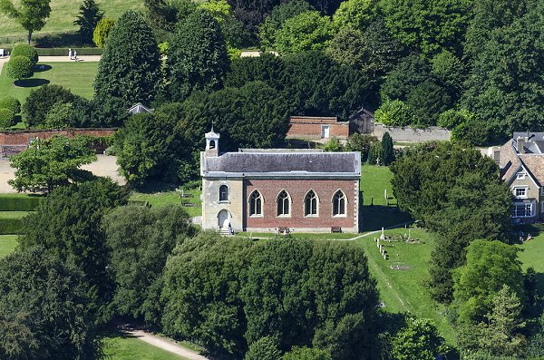 Aerial View of St Andrew's Parish Church 2016