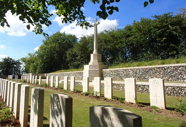 Hargicourt British Cemetery, Aisne, France