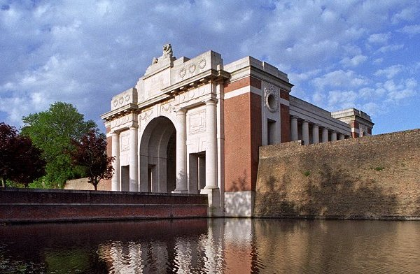 The Menin Gate Memorial, Ypres