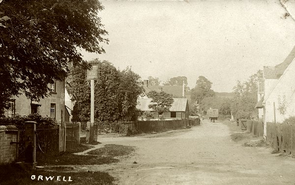 Town Green Road, Orwell c1905