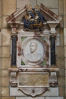 Memorial Tablet, Truro Cathedral