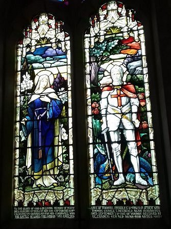 Stained Glass Windows, St Andrews Parish Church, Wimpole