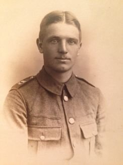 13644 Private Frank Skinner, 11th Suffolk Regiment