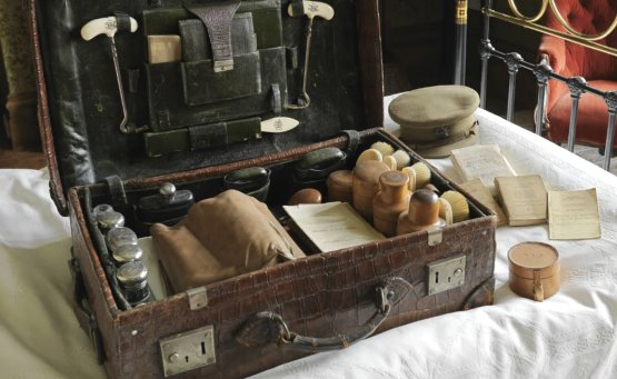 Captain Agar-Robartes' military possessions