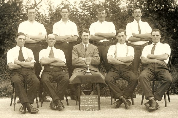 The Wimpole United Tug-of-War Team 1926