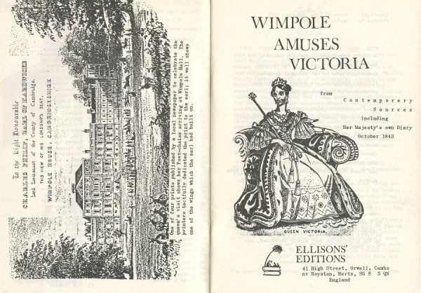 Wimpole Amuses Victoria - Pages ii and iii