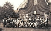 c1905 Estate Workers at Cobbs Wood Sawmill