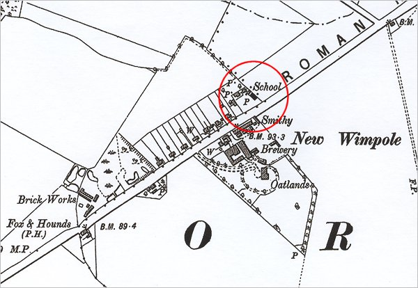 1903 (2nd Edition) Ordnance Survey Map